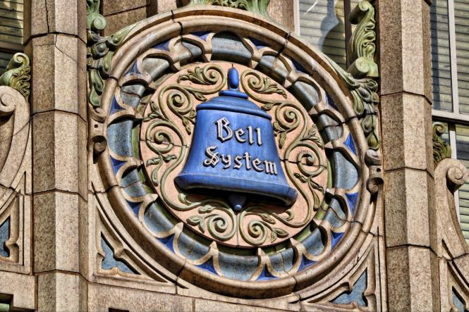 Bell System Sign in Denver Colorado