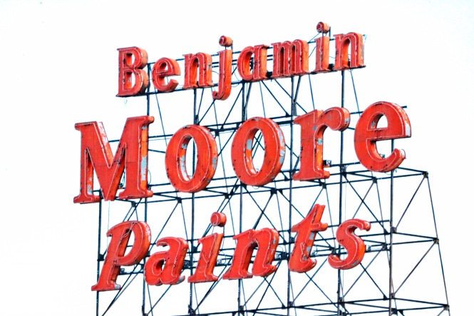 benjamin moore paints signs from downtown Denver Colorado - 1.jpg