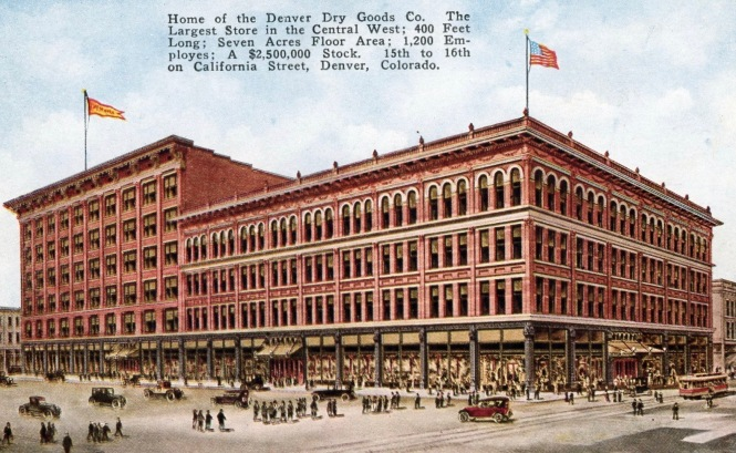 Postcard: The Denver Dry Goods Company